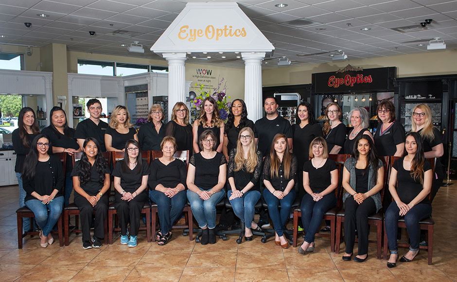 EyeOptics Optometry Center Staff