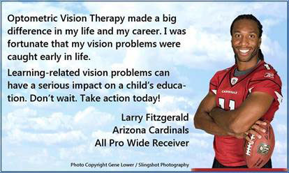 Larry Fitzgerald Testimonial